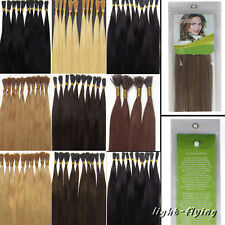 """22"""" 24"""" Stick-I shape tip straight human hair extensions 9 colors for choosen"""