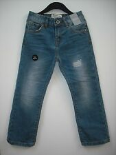 BNWT Straight Fit Jeans with waist adjusters. Blue Denim. Boys. Age 6 -9 Years