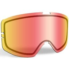 509 KINGPIN SNOW GOGGLES REPLACEMENT LENS- Fire Mirror Clear -509-KINLEN-17-FC