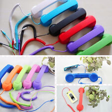 Cool Retro Telephone 3.5mm Retro Cell Phone Handset Phone Receiver for iPhone