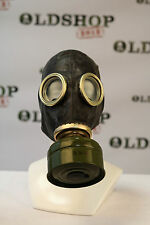 WW2 Gas Mask GP-5 mask and filter BLACK Soviet Russian NEW Vintage Collectible