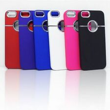 LUXURY CHROME PLASTIC HARD BACK COVER CASE FOR IPHONE SE / IPHONE 5S /IPHONE 5