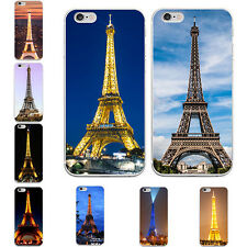 3D Eiffel Tower Print Back Case Cover for iPhone 5 6S 7 Plus Samsung S7 Terrific