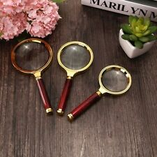60/70/80MM 5X/10X Handheld Jewelry Magnifier Magnifying Glass Jewelry Loupe EW