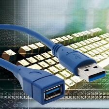 1~3M Length USB 3.0/2.0 Male To USB 3.0 Female Extension Cable Data Sync Cable@W