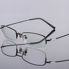 New Titanium Eyeglass Frames Half Rimless Spectacle Frame RS-9008 4 Color