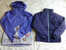 The North Face Women Quilted Penny Triclimate 3 in 1 HyVent Jacket Snow Ski New