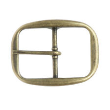 "1 1/4"" (32 mm) Single Prong Oval Belt Buckle 3"