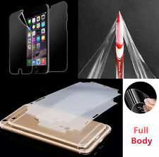 Front & Back Full Body INVISIBLE Screen Protector Guard For iPhone 6/ 6S & Plus