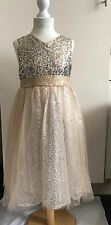 BNWT GIRLS MONSOON TARA TWINKLE SPARKLY SEQUIN PARTY OCCASION DRESS 4 5 7  11 Y