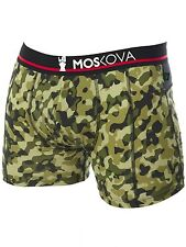 Moskova Camo Black Orange M2S Polyamide Boxer Shorts