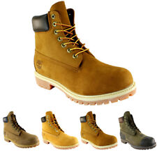 Mens Timberland Premium Classic Leather Original Lace Up Ankle Boots All Sizes