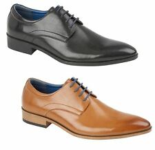 Mens Knutsford Smart Fashion Leather Formal Casual Lace Up Brogue Shoes Size