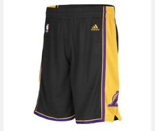 Los Angeles Lakers Hollywood Nights Adidas Men's Swingman Shorts New With Tags