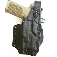 Deep Concealment Kydex Holsters FNH level 2 with Blackhawk paddle