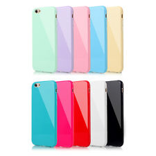 New For Apple iPhone 5 5S 6 6S Plus Soft Candy Silicone Rubber Gel Case Cover