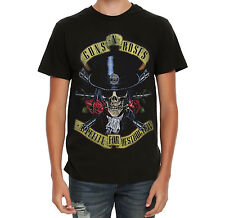 Guns N' Roses APPETITE FOR DESTRUCTION SKULL T-Shirt NEW Licensed & Official