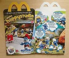 McDonalds Happy Meal Toy Collector BOX only (Empty) New - VARIOUS