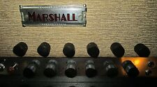 Marshall JTM45 amp knobs ~ Set of 6 ~ V top pitched center.