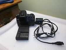 Sony Alpha DSLR-A300 10.2MP 2.7'' SLR-BODY-Charger- (2)batteries - Cracked LCD