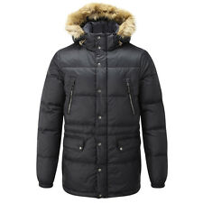TOG 24 - Brave Mens Down Parka Jacket Black