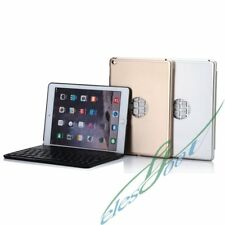 New Aluminum Stand Case Cover Housing Wireless Bluetooth Keyboard For iPad Air 2