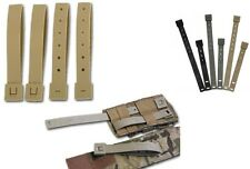 Malice Clips  Molle Webbing & Kydex Holsters Airsoft black dark earth folige x4