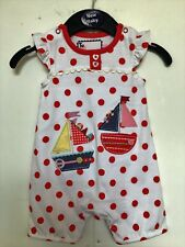BNWOT Summer Romper Outfit.  Girls  Age 0-3 Months