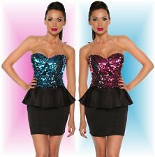 Sexy Case Mini Dress with sequins Party Club Disco Evening