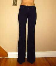 $178 Seven 7 For All Mankind 7FAM Ginger Wide Leg Flare GUMMY Jeans Dark 24-32