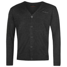 Pierre Cardin Mens Cardigan Charcoal New With Tags