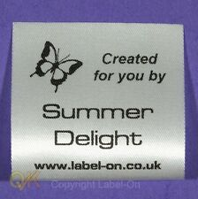 SEW IN PERSONALISED GARMENT, CLOTHING, CARE LABEL, CRAFT LABELS 11