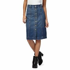 Rjr.John Rocha Womens Blue Denim Skirt From Debenhams