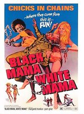 Black Mama White Mama Film Poster Chicks in Chains Pam Grier Margaret Markov