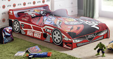 Speedy Racing Car Child Bed Frame with Mattress Option