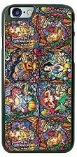 Disney Princess Collage Stain glass phone case cover for iphone samsung htc lg