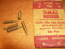 57-59 FORD CARBURETOR ADJUSTING NEEDLES - B7A-9541-A1 - NOS - LOT OF 5