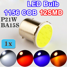 2pcs 1156 COB BA15S LED Bulb P21W 12SMD Car Lamp Bulb 12V Truck Vehicle Light