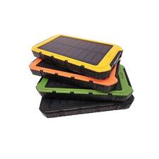 Waterproof Solar Power Bank 10000mah External Battery Charger For Mobile Phone