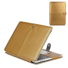 For Macbook pro leather sleeve PU Leather Case Laptop Cover Bag Retina Air 13