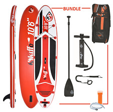 INFLATABLE STAND UP PADDLE BOARD ISUP SKIFFO LUI 10ft 6""