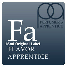 TFA Flavour Apprentice TPA Perfumers Apprentice 15ml Bottle Flavours from A to P