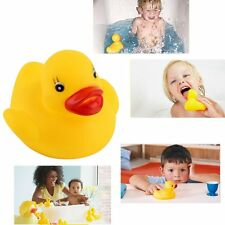Lots Yellow Baby Children Bath Toys Cute Rubber Squeaky Duck Ducky 1/10/20Pcs AU