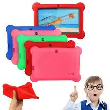 "Soft Silicone Gel Case Cover For 7"" Android 4.4 Q88 A23 A13 Tablet Kids Child WP"