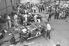 Ford GT40 paddock victory 24 Hours Le Mans 1966 – Shelby - photograph photo