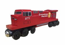 Canadian Pacific C-44 Engine -  Wooden toy train by Whittle Shortline Railroad
