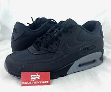 New Mens Nike Air Max 90 Running Shoes Anthracite/Black Gray 95 537384-059 c1