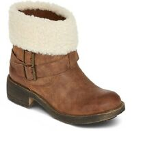 K9 By Rocket Dog Womens Boots Tana natural faux fur pull on size 6.5 NEW