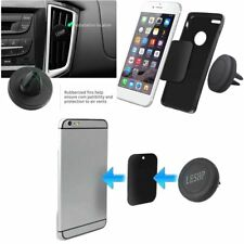 360° Rotating Car Air Vent Phone Holder Mount Stand Magnetic for Cellphone BL