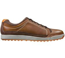 FootJoy Mens Contour Casual Spikeless Golf Shoe - CLOSEOUTS #54222 - Brown
